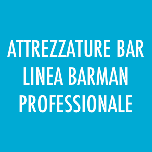 Attrezzature professionali per bar, linea barman