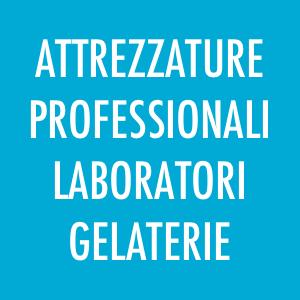 Attrezzature per pasticcerie, gelaterie, laboratori