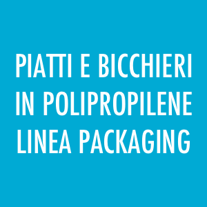 Piatti e bicchieri in polipropilene, Packaging, Fingerfood
