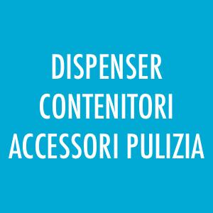 Dispenser, accessori per la pulizia
